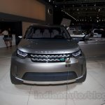 Land Rover Discovery Vision Concept front at the 2014 Moscow Motor Show