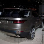 Land Rover Discovery Vision Concept rear three quarters left at the 2014 Moscow Motor Show