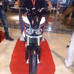 Mahindra Mojo 300 dealer preview front