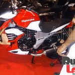 Mahindra Mojo 300 dealer preview side