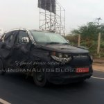 Mahindra S101 spied in Chennai front