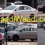 Maruti Ciaz production spied colors