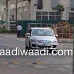 Maruti Ciaz production spied
