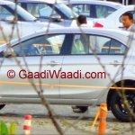 Maruti Ciaz spied again side