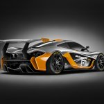 McLaren P1 GTR Concept rear three quarter