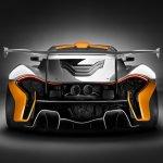 McLaren P1 GTR Concept rear