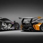 McLaren P1 GTR Concept with McLaren F1 GTR