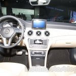 Mercedes CLA dashboard at the Moscow Motor Show 2014