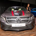 Mercedes CLA front at the Moscow Motor Show 2014