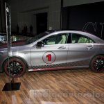 Mercedes CLA profile at the Moscow Motor Show 2014
