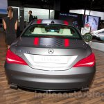 Mercedes CLA rear at the Moscow Motor Show 2014