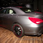 Mercedes CLA rear left three quarter at the Moscow Motor Show 2014
