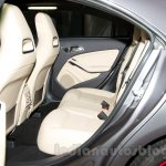 Mercedes CLA rear seat at the Moscow Motor Show 2014