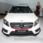 Mercedes GLA 45 AMG front at the Moscow Motor Show 2014