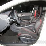 Mercedes GLA 45 AMG interior at the Moscow Motor Show 2014