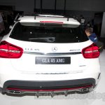 Mercedes GLA 45 AMG rear at the Moscow Motor Show 2014