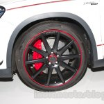 Mercedes GLA 45 AMG wheel at the Moscow Motor Show 2014
