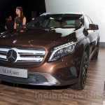 Mercedes  GLA at the Moscow Motorshow 2014