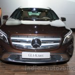 Mercedes GLA front at the Moscow Motorshow 2014