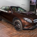 Mercedes GLA front right three quarter at the Moscow Motorshow 2014