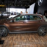 Mercedes GLA profile at the Moscow Motorshow 2014