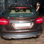 Mercedes GLA rear at the Moscow Motorshow 2014