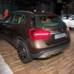 Mercedes GLA rear three quarter at the Moscow Motorshow 2014