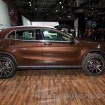Mercedes GLA side at the Moscow Motorshow 2014