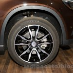 Mercedes GLA wheel at the Moscow Motorshow 2014