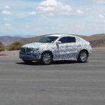 Mercedes MLC spied Death Valley front quarter