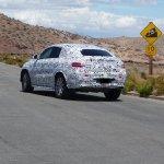 Mercedes MLC spied Death Valley rear quarter
