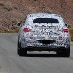 Mercedes MLC spied Death Valley rear