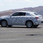 Mercedes MLC spied Death Valley side