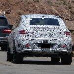 Mercedes MLC spied Death Valley taillight