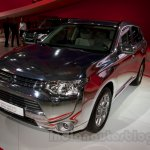 Mitsubishi Outlander PHEV at the 2014 Moscow Motor Show front quarter