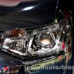 Mitsubishi Outlander PHEV at the 2014 Moscow Motor Show headlight