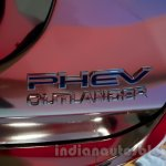 Mitsubishi Outlander PHEV at the 2014 Moscow Motor Show logo