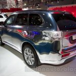 Mitsubishi Outlander PHEV at the 2014 Moscow Motor Show rear quarter