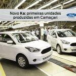 New Ford Ka production start press shot side