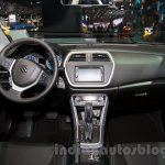 New Suzuki SX4 at the 2014 Moscow Motor Show cabin