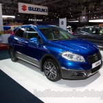 New Suzuki SX4 at the 2014 Moscow Motor Show front quarters