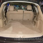 Nissan Pathfinder at the 2014 Moscow Motor Show boot capacity