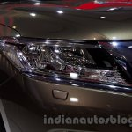Nissan Pathfinder at the 2014 Moscow Motor Show headlight