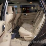 Nissan Pathfinder at the 2014 Moscow Motor Show rear seat