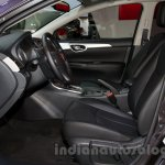 Nissan Sentra at the 2014 Moscow Motor Show front seat