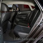 Nissan Sentra at the 2014 Moscow Motor Show rear seat
