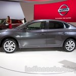 Nissan Sentra at the 2014 Moscow Motor Show side
