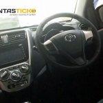 Perodua Axia spied in Malaysia Advance dashboard