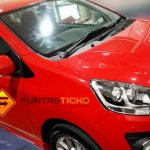Perodua Axia spied in Malaysia Advance front