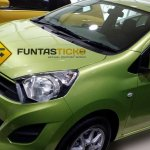 Perodua Axia spied in Malaysia front